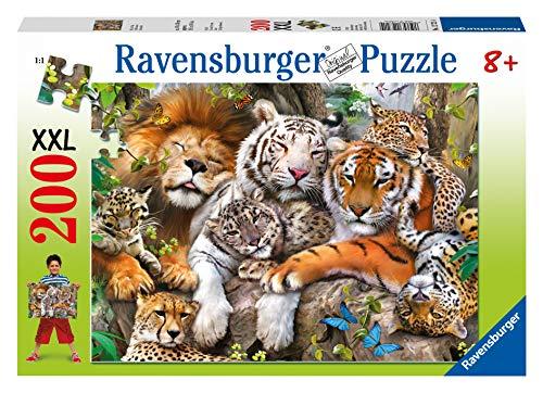Ravensburger Italy Rav Pzl 200 Pz. Grandi Felini 12721, Multicolore, 878610