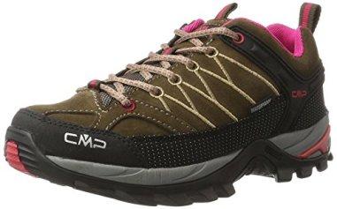 CMP-Damen-Rigel-Low-WP-Trekking-Wanderhalbschuhe-Braun-Wood-Magenta-39-EU