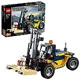 LEGO-Technic Le chariot élévateur Jeu Garçon et Fille 9 Ans et Plus, Jeu de Construction, 592 Pièces 42079