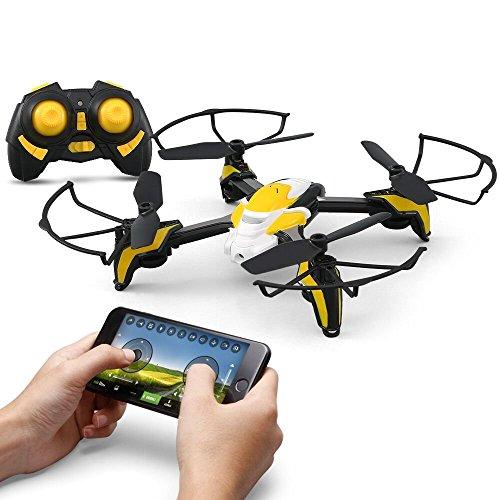 KAI DENG K90 Mini Drone con Telecamera 0.3MP WIFI FPV, con 2 Batterie, Due metodi di controllo...