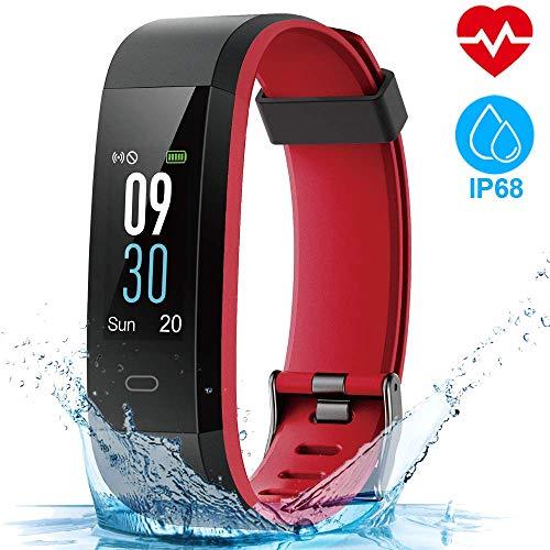 HOMSCAM Fitness Tracker Orologio Fitness Donna Uomo Smartwatch Cardiofrequenzimetro da Polso Schermo...