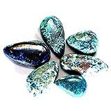 57.50CTS 100% naturale qualità AAA + blu Azzurrite 6pcs cabochon sciolto pietre preziose