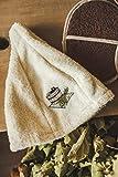 Materiale: 100% cotone Taglia La taglia del cappello della sauna è di circa 55-60 cm (circonferenza della testa). È sempre una taglia unica.