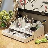 Tipo di cassetto bianco Tipo di gioielli Accessori cosmetici compongono le scatole di immagazzinaggio