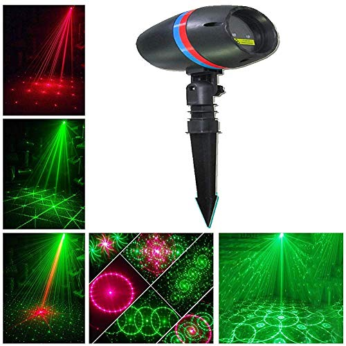CITRA Outdoor House Light for Diwali Festival Home Decorations, Class Ⅲ-A Laser Projector Light with Japan Sharp Chip More Durable Quality, IP65 Waterproof