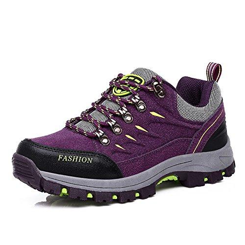 Easondea Zapatillas de Trekking para Hombres Mujeres Zapatillas de Senderismo Unisex Botas de Montaña Antideslizantes AL Aire Libre Zapatillas de Deporte