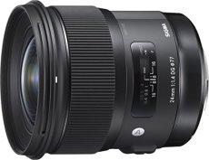 Sigma 24 mm / F 1.4 DG HSM Art - Objetivo para Canon, color negro