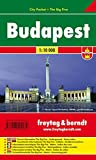 Budapest, Stadtplan 1:10.000, City Pocket + The Big Five, wasserfest, Freytag Berndt Stadtpläne