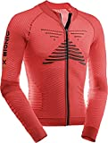 X-Bionic Bike Effektor Power Maillot, Hombre, Rojo Flash/n, L