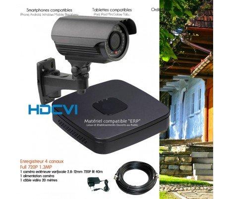 Dahua-kit-547-1x 2430varifocale telecamera di videosorveglianza HDCVI kit-no HDD