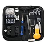 Yaetek 120 pz Kit di riparazione orologi, Eventronic Professional Spring Bar Tool set Watch Band Link pin Tool set con custodia da trasporto