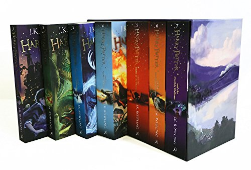 Harry Potter 7 Volume Children'S Paperback Boxed Set: The Complete Collection (Set of  7 Volumes) 5