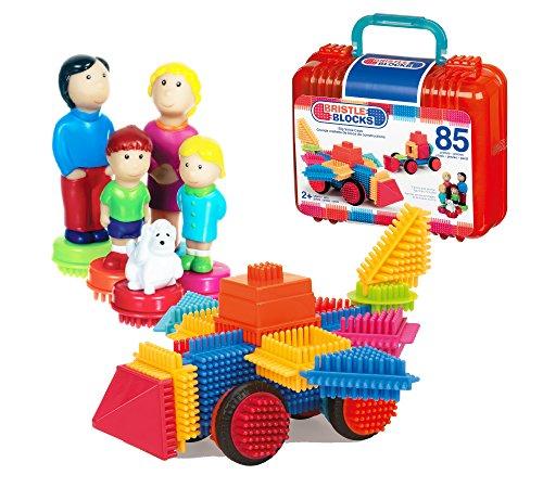 Bristle Blocks 70.3071 Toy, Various, 85-Piece