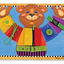 Melissa & Doug- Tavola delle attività di Base, Multicolore, 13784