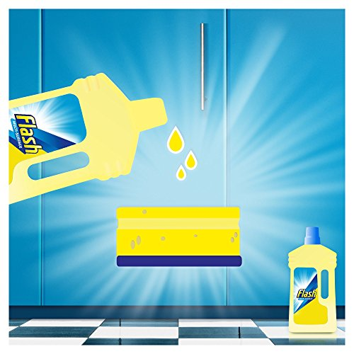 Flash Universal Mandarin and Cedarwood Multi-Surface Cleaning Liquid Removes Up to 100 Percent of Dirt, Grease and Grime, 1 Litre 3  Flash Universal Mandarin and Cedarwood Multi-Surface Cleaning Liquid Removes Up to 100 Percent of Dirt, Grease and Grime, 1 Litre 518XGhys7xL