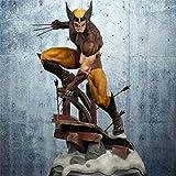 RLJXIA X-Men Action Caractère Super Héros 20cm Wolverine Édition Marron Statue Modèle Décoration Wolverine