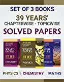 39 Years' Chapterwise Topicwise Solved Papers IIT JEE Mathematics, Chemistry, Physics