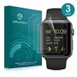 Dalinch Compatible with iWatch 44mm 42mm Screen Protector Series 4 3 2 1,[3Pack] Wet Applied Anti-Bubble TPU Film for iWatch 44mm 42mm Hermès/Nike+