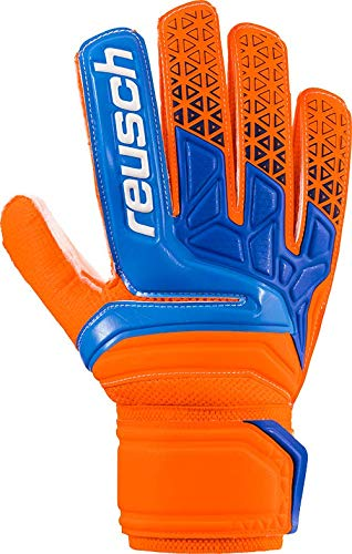 Reusch Prisma SD - Guanti da Portiere da Uomo, Uomo, 3870515, Shocking Orange/Blue, 10