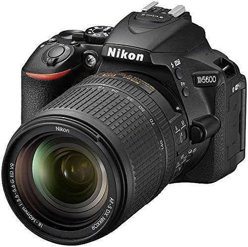 "Nikon D5600 - Cámara réflex de 24.2 MP (pantalla táctil de 3"", Full HD) color negro - kit con objetivo AF-S DX 18-140 mm VR"