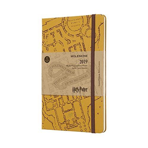 Moleskine 2019 Agenda Settimanale Harry Potter 12 Mesi, con Spazio per Note, in Edizione Limitata,...