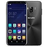 BLUBOO S8 4G Smartphone Android 7.0 5.7'' HD 18:9 Full Display, MTK6750 Octa Core, 3GB RAM 32GB ROM, 5.0MP + 13.0MP Internal Camera, Type-C, 3450 mAh Battery 4.4 V (Nero)