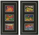2 Bilder Friedensreich Hundertwasser mit Rahmen je Bild 35 x 65 cm PREIS-HIT!