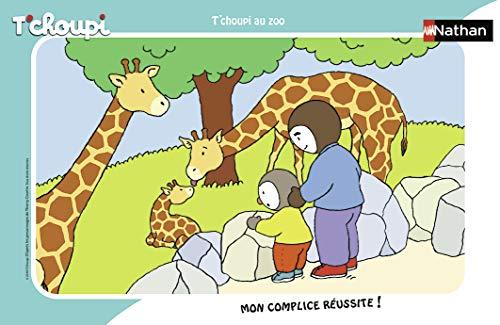 Nathan quadro 15pezzi T' choupi al Zoo, Puzzle, casse Tete, bambini, GARCON, Gioco, Giocattolo...