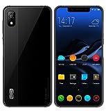 Elephone A4 Smartphone 5,85 pollici HD schermo Notch 19: 9 Android 8.1 cellulare 4G MT6739 Quad core 1,5 GHz 3 GB + 16 GB doppia fotocamera 5 MP + 13 MP batteria 3000 mAh Sensore di impronte digitali laterale - Nero