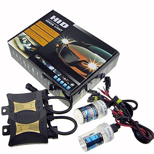 Sipobuy 12V 55W Xenon HID Conversion Kit faro per Veicolo Car Sostituzione Della Lampada, H7 / 6000K...