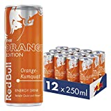 Red Bull Energy Drink Orange-Kumquat Dosen Getränke Orange Edition 12er Palette, EINWEG (12 x 250 ml)
