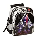 Star Wars Darth Vader - Mochila infantil, 28 x 23 x 10 cm, color negro