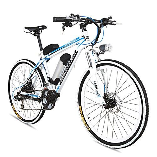 Extrbici-MX38-VTT-Vlo-lectrique-lger-240W-48V-10A-Bicyclette-lectrique-en-Alliage-dAluminium-Double-Paroi-Couleur-Blanc-Bleu-Cyrusher