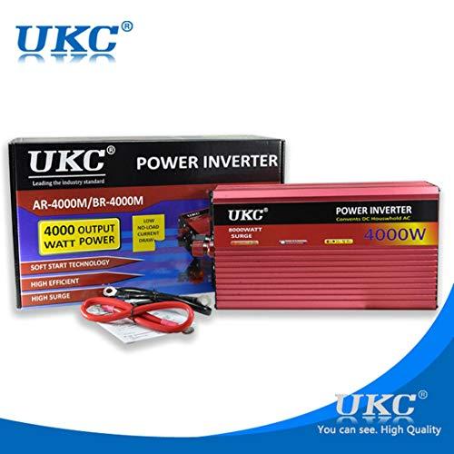 Monllack del Poder del Coche Generador Inverter DC 12V a 220V Central eléctrica de la batería Recargable de alimentación del convertidor de energía de Emergencia, para los Coches