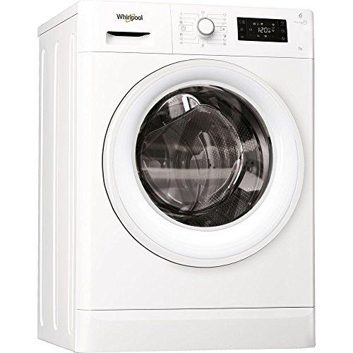 Whirlpool FWSG71253W Libera installazione Carica frontale 7kg 1200Giri/min A+++ Bianco lavatrice