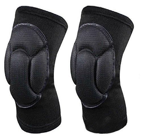 1 coppia (pezzi) addensare ginocchiere tutore per manica sport spugna  ginocchio protezioni per alpinismo pallavolo arti marziali Kick Boxing Muay  Thai ... b3a3ef26ba34