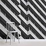 Fondo de pantalla personalizado moderno nórdico brutalista arquitectura de gran altura Mural Mural Wallpaper 400x280cm