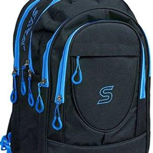 SARA 30 Liters Polyester Black School Bag 10  SARA 30 Liters Polyester Black School Bag 519WS7JGjHL