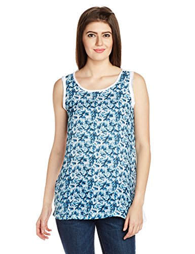 VOI Jeans Women's Tank Top (VOTS0032_Multicolored_Large)