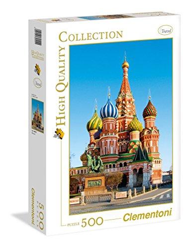 Clementoni 30555 - Puzzle HQC Mosca, 500 Pezzi