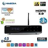 Himedia Q10 Pro 4k (Ultra HD) 3d Media Player Android 5.1 Smart TV Box Mini PC 2GB/16GB...