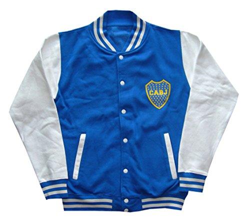 Boca Juniors bocajket Giacca Calcio, BOCAJKET, Blu, FR : XXL (Taille Fabricant : XXL)