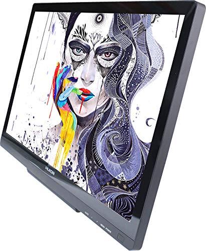 Huion GT-220 Dessin Graphique Moniteur 21.5'' avec Stylet, Résolution Full HD (Argent)