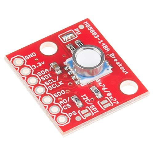 GY-MS5803-14BA 01BA Modulo breakout del sensore di pressione del gas liquido fluido per Arduino (colore: rosso)
