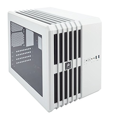 Corsair Carbide Series Air 240 PC-Gehäuse (Windowed Mini ATX High Airflow) weiß