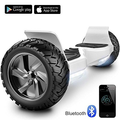 Challenger Basic Monopattino Elettrico Autobilanciato, Balance Scooter Skateboard, con Due Ruote 8.5...