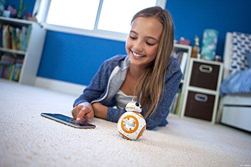 51A134U1dRL - Sphero R001ROW, Robot electrónico droide BB-8 Star Wars (R001ROW)
