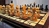 ChessEbook PEARL 34 - Ajedrez de Madera, Tablero de 34...