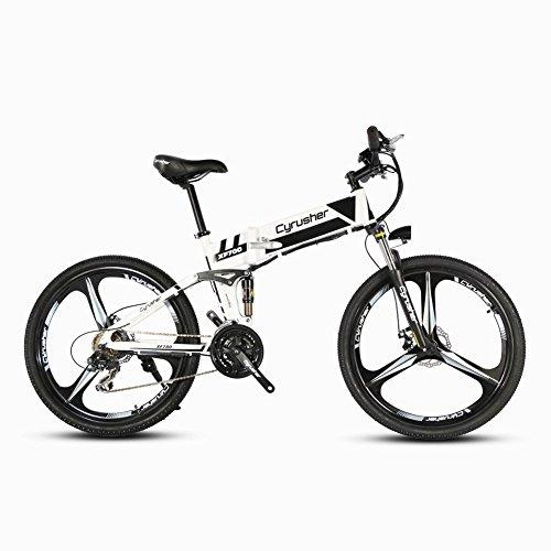 Rduction-pour-le-tour-de-France-Cyrusher-XF700-Vlo-lectrique-pliante-Bicyclette-de-montagne-26-pouces-Installation-antichoc-suprieure-Moteur--haute-puissance-250W36V-Vitesse-de-30--40-kmh-avec-interru
