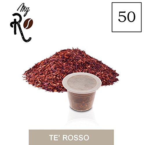 50 Cápsulas de té compatibles Nespresso - Té Rojo - MyRistretto